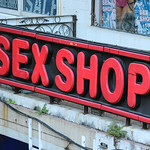 Sex Shop Sign, Kowloon, Hong Kong